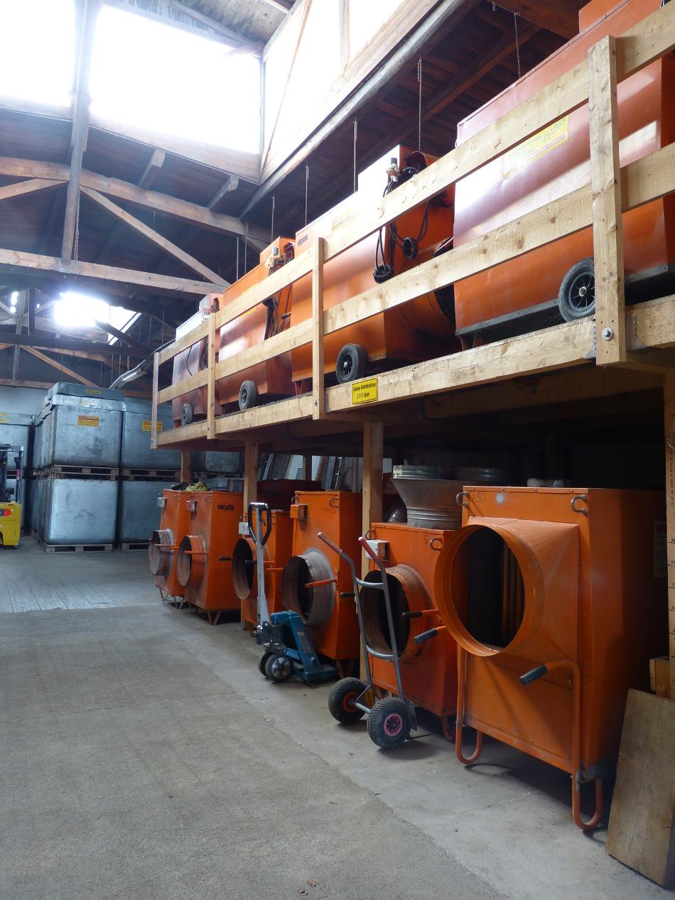 Öl-Warmlufterzeuger 25 – 140 kW