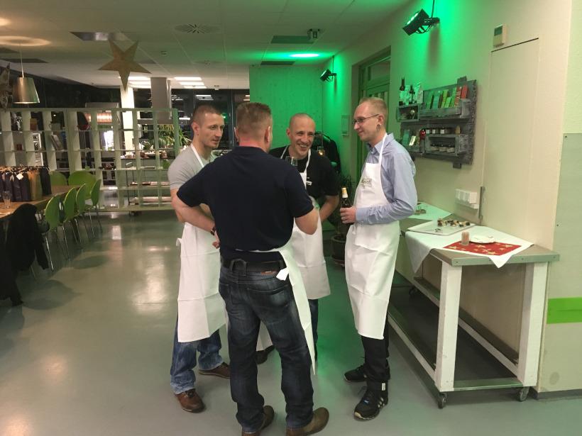WOSI Weihnachtsfeier im Kochloft Dresden